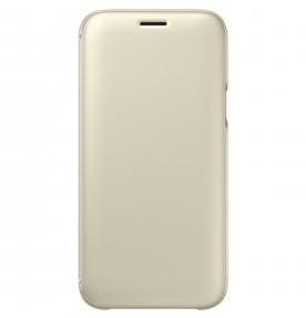 Husa Flip Wallet Samsung Galaxy J5 (2017), Gold