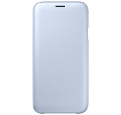 Husa Flip Wallet Samsung Galaxy J7 (2017), Blue
