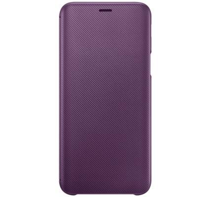 Husa Flip Wallet Samsung Galaxy J6 (2018), Purple
