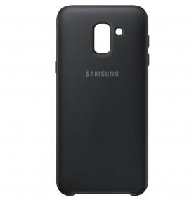 Husa Dual Layer Cover Samsung Galaxy J6 (2018), Black