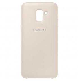Husa Dual Layer Cover Samsung Galaxy J6 (2018), Gold