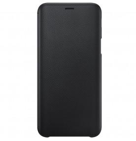 Husa Flip Wallet Samsung Galaxy J6 (2018), Black