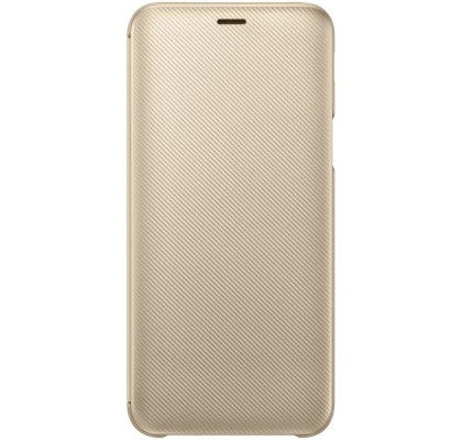 Husa Flip Wallet Samsung Galaxy J6 (2018), Gold