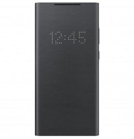 Husa LED View Cover pentru Samsung Note 20, Black
