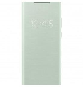 Husa LED View Cover pentru Samsung Note 20, Mint