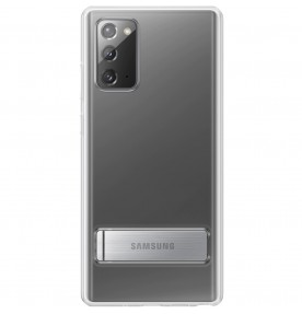 Husa Protective Standing Cover Samsung Note 20, Transparent
