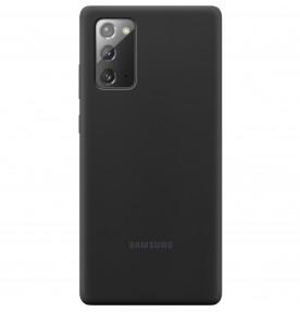 Husa Silicone Cover pentru Samsung Note 20, Black