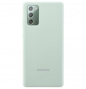 Husa Silicone Cover pentru Samsung Note 20, Mint