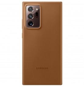 Husa Leather Cover pentru Samsung Note 20 Ultra, Brown
