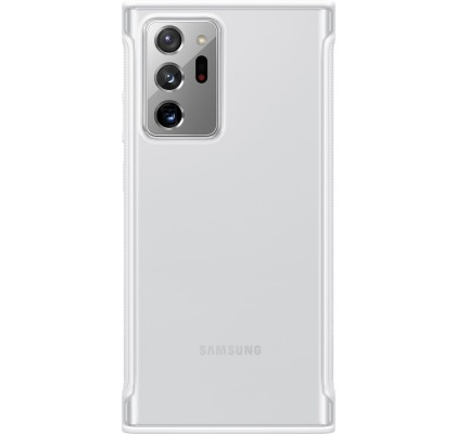 Husa Protective Cover Clear Galaxy Note 20 Ultra, White