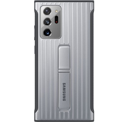 Husa Protective Standing Cover Samsung Note 20 Ultra, Silver