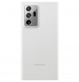 Husa Silicone Cover pentru Samsung Note 20 Ultra, White