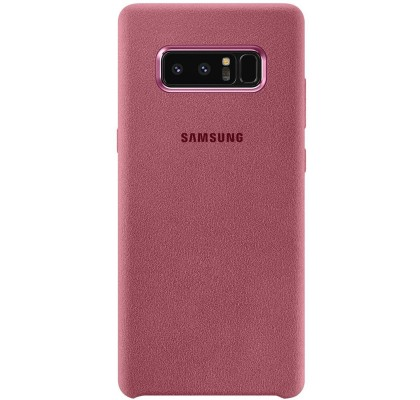 Husa Alcantara Cover pentru Samsung Galaxy Note 8, Pink