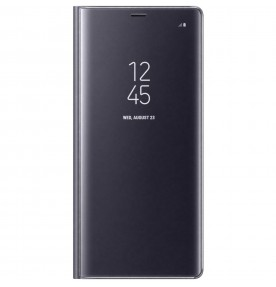 Husa Clear View Standing Cover Samsung Galaxy Note 8, Violet