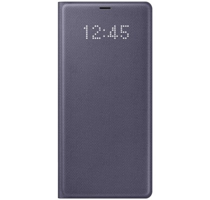 Husa LED View Cover pentru Samsung Galaxy Note 8, Violet