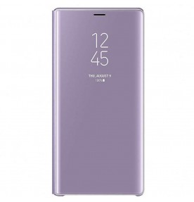 Husa Clear View Standing Cover Samsung Galaxy Note 9, Violet