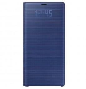 Husa LED View Cover pentru Samsung Galaxy Note 9, Blue