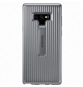 Husa Protective Standing Cover Samsung Galaxy Note 9, Silver