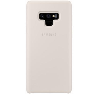 Husa Silicone Cover pentru Samsung Galaxy Note 9, White