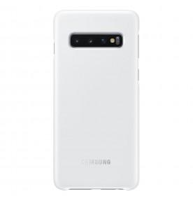 Husa LED Cover pentru Samsung Galaxy S10, White