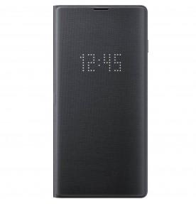 Husa LED View Cover pentru Samsung Galaxy S10, Black