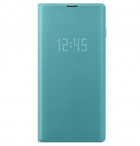 Husa LED View Cover pentru Samsung Galaxy S10, Green