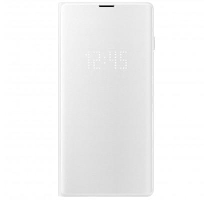 Husa LED View Cover pentru Samsung Galaxy S10, White