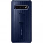 Husa Protective Standing Cover Samsung Galaxy S10, Black