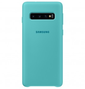 Husa Silicone Cover pentru Samsung Galaxy S10, Green