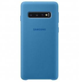 Husa Silicone Cover pentru Samsung Galaxy S10, Blue