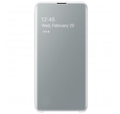 Husa Clear View Cover Samsung Galaxy S10E, White