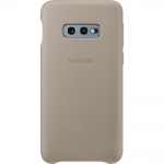 Husa Leather Cover pentru Samsung Galaxy S10e, Gray