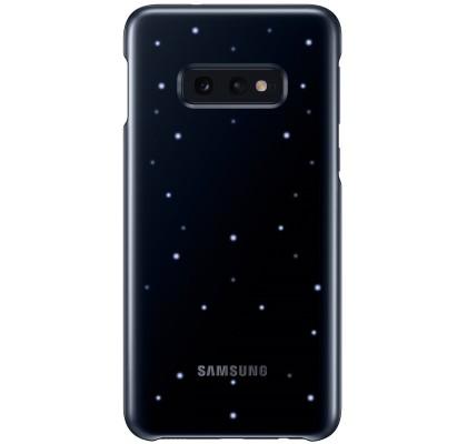 Husa LED Cover pentru Samsung Galaxy S10e, Black