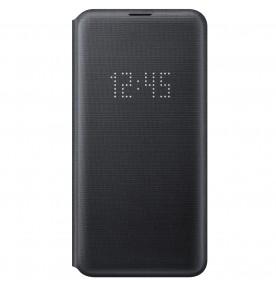 Husa LED View Cover pentru Samsung Galaxy S10E, Black