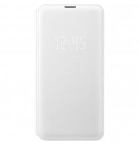 Husa LED View Cover pentru Samsung Galaxy S10E, White