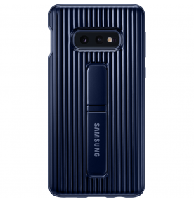 Husa Protective Standing Cover Samsung Galaxy S10E, Blue