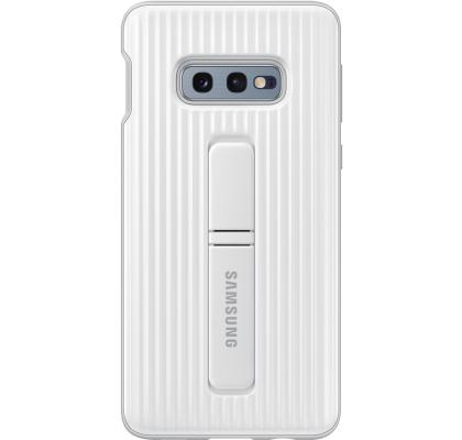 Husa Protective Standing Cover Samsung Galaxy S10E, White