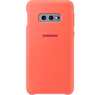 Husa Silicone Cover pentru Samsung Galaxy S10e, Berry Pink