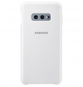 Husa Silicone Cover pentru Samsung Galaxy S10e, White
