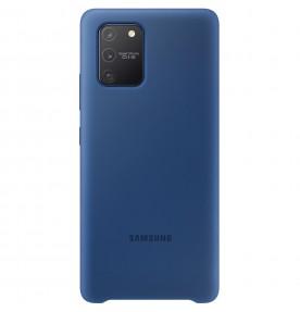 Husa Silicone Cover pentru Samsung Galaxy S10 Lite, Blue