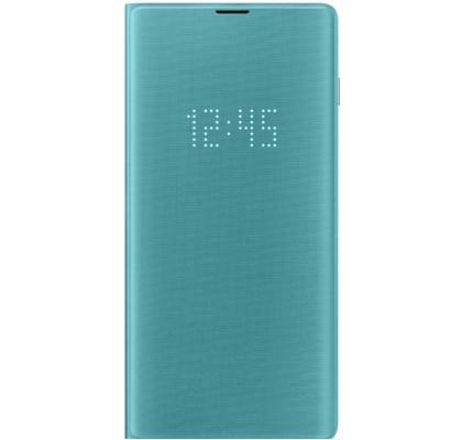 Husa LED View Cover pentru Samsung Galaxy S10+, Green