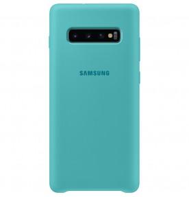 Husa Silicone Cover pentru Samsung Galaxy S10+, Green