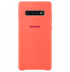 Husa Silicone Cover pentru Samsung Galaxy S10+, Berry Pink