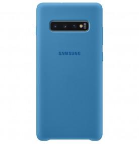 Husa Silicone Cover pentru Samsung Galaxy S10+, Blue