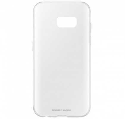 Husa Slim Cover Clear Samsung Galaxy A3 (2017) Transparenta