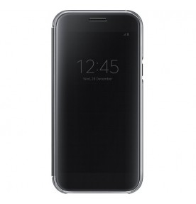 Husa Clear View Cover Samsung Galaxy A5 (2017), Black