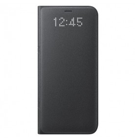 Husa LED View Cover pentru Samsung Galaxy S8, Black
