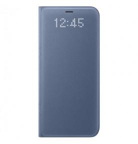 Husa LED View Cover pentru Samsung Galaxy S8, Blue