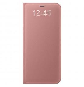 Husa LED View Cover pentru Samsung Galaxy S8, Pink