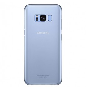 Husa Protective Cover Clear Samsung Galaxy S8, Blue